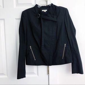 Helmut Lang Asymmetrical Zip Jacket women's Size M